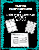 Reading Comprehension & Sight Word Sentence Bundle! No Prep!