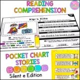 Reading Comprehension Silent e Bundle {Stories and Pocket