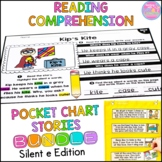 Reading Comprehension Silent e Bundle {Stories and Pocket