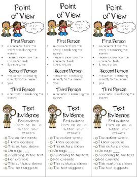 Reading Comprehension Skill Bookmarks