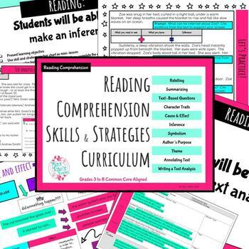 Reading Comprehension Skills & Strategies Curriculum