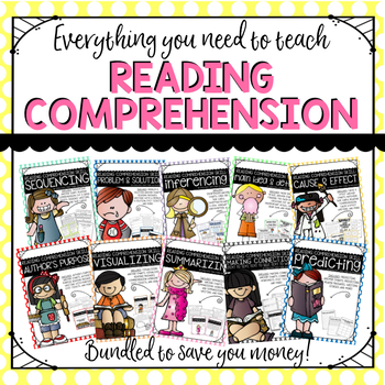 Reading Comprehension Skills-- BUNDLED!
