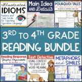 Reading Comprehension Skills Bundle 3rd Grade 4th Grade