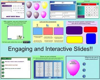 Reading Comprehension Skills Bundle! (Smartboard)