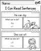 Reading Comprehension Skills - CVC Simple Sentences [I Can Read]