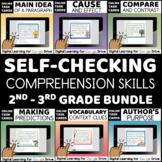 Reading Comprehension Skills Digital Tasks BUNDLE Google D
