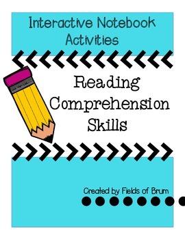 Reading Comprehension Skills Interactive Notebook Activities