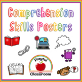 Reading Comprehension Skills Poster Pack
