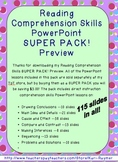Reading Comprehension Skills PowerPoint **SUPER PACK!**