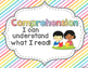 Reading Comprehension Skills Reference Posters: Pretty Pas