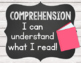 Reading Comprehension Skills Reference Posters: Shiplap Chic theme