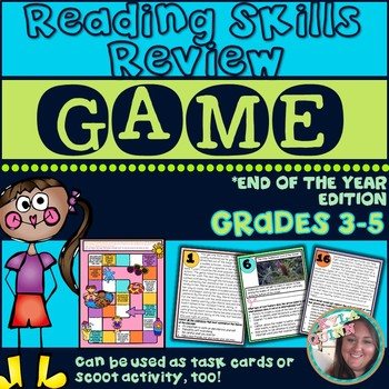 Reading Comprehension/Skills Review End of Year Game