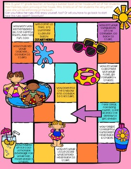 Reading Comprehension/ Skills Review End of Year Game/ Reading Skills Practice