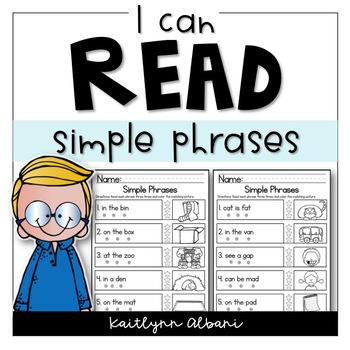 Reading Comprehension Skills - Simple Phrases [I Can Read]