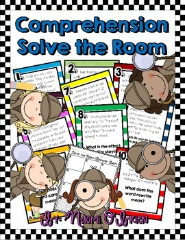 Reading Comprehension Skills: Solve the Room
