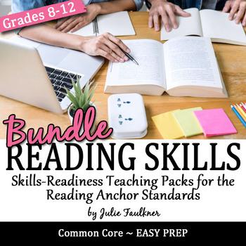 Reading Comprehension Skills Teaching Packs, BUNDLE