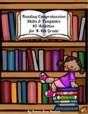 Reading Comprehension Skills & Templates