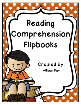 Reading Comprehension Skills and Strategies Flipbooks