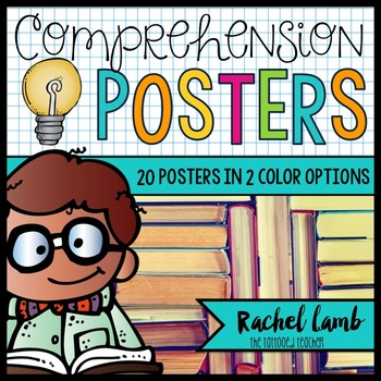 Reading Comprehension Skills and Strategy Posters #summersalebration