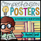 Reading Comprehension Skills and Strategy Posters Bright a