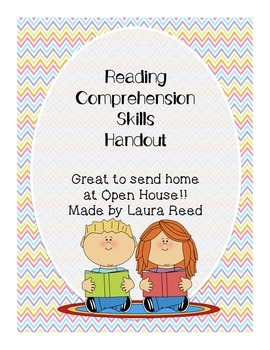 Reading Comprehension Skills at Home