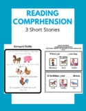 Reading Comprehension - Special Education - English Language Arts