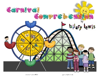 Reading Comprehension Spinner - Fiction