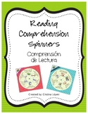 Reading Comprehension Spinner in Spanish