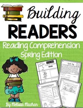Reading Comprehension Passages - Spring BUNDLE