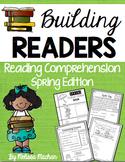 Reading Comprehension Passages, Questions, Activities -Spring BUNDLE