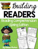 Reading Comprehension Passages - Spring BUNDLE