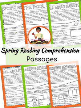 Spring Reading Comprehension Passages 14  (Fiction & Non-Fiction)