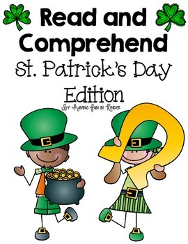 Reading Comprehension - St. Patrick's Day Edition