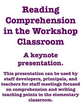Reading Comprehension Staff Development