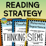 Reading Strategy Thinking Stems