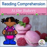 Reading Comprehension Stories: Community Helpers at the Bakery
