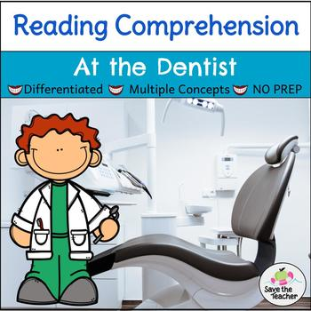 Reading Comprehension Stories: Community Helpers at the Dentist's Office