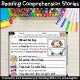 Reading Comprehension Stories {Phonics Edition}