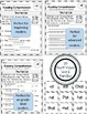 Reading Comprehension - Short & Long Word Families BUNDLE - Differentiated