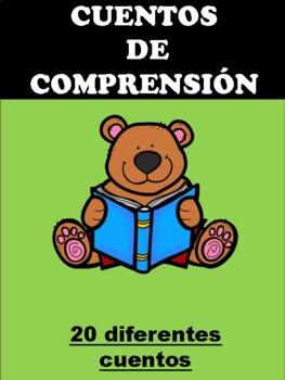 20 Spanish Reading Comprehension Stories comprensión