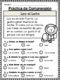 20 Spanish Reading Comprehension Stories comprensión