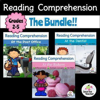Reading Comprehension Passages: The Bundle