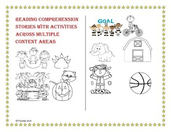 Reading Comprehension Stories With Activities Across Multiple Content Areas