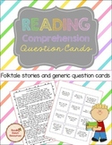 Reading Comprehension Folktale Stories and Question Cards