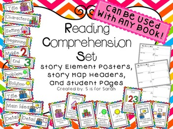 Reading Comprehension Story Map Bundle