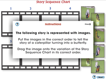 Reading Comprehension: Story Sequence Chart - NOTEBOOK Gr. 3-8