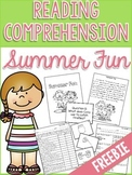 Reading Comprehension Story: Summer Fun FREEBIE!