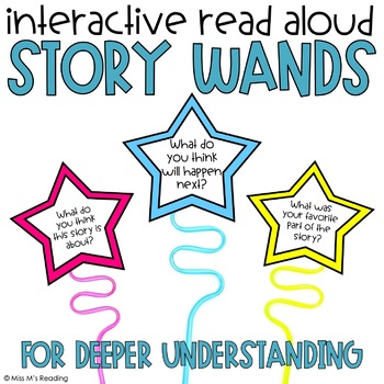 Interactive Read Aloud Story Wands