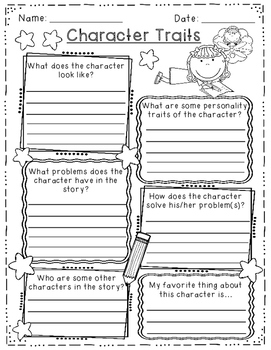 Reading Response & Story Writing - Graphic Organizers, Assessments, Posters