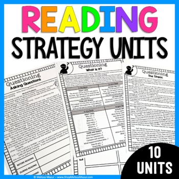Reading Comprehension Strategies and Activities